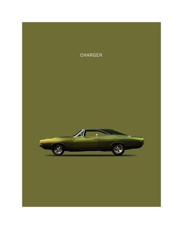 "Dodge Charger Metal Sign 9/"" x 12/"" or 12/"" x 16/"""