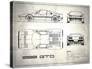 Ferrari 288-GTO White by Mark Rogan