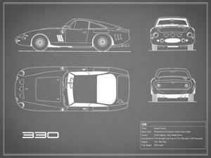 Ferrari 330-Grey by Mark Rogan