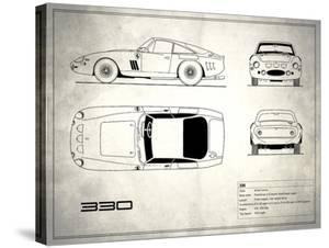 Ferrari 330 White by Mark Rogan