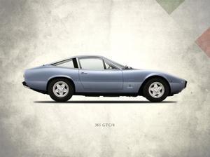 Ferrari 365GTC-4 1972 by Mark Rogan