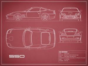 Ferrari 550-Maroon by Mark Rogan