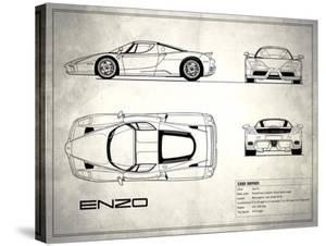 Ferrari Enzo White by Mark Rogan