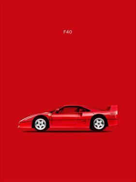 Ferrari F40 by Mark Rogan