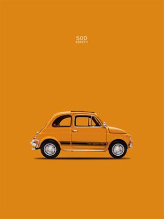 Fiat 500 Abarth 1969 by Mark Rogan