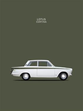 Ford Lotus Cortina Mk1 1966 by Mark Rogan