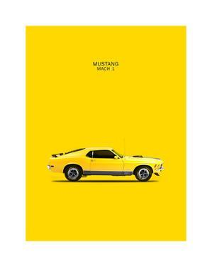 Ford Mustang Mach1 1970 by Mark Rogan