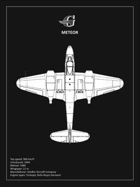 Gloster Meteor Black by Mark Rogan