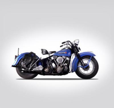 Harley Davidson Model EL 1948 by Mark Rogan
