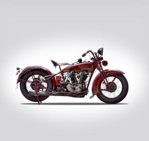 Harley Davidson Model JDH 1928 by Mark Rogan