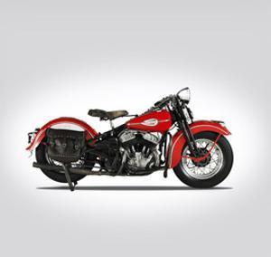 Harley Davidson WLD 1941 by Mark Rogan