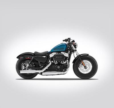 Harley Davidson XL 1200X Forty by Mark Rogan