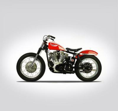Harley Davidson XLR TT 1964 by Mark Rogan