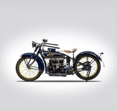 Henderson Four 1925 by Mark Rogan