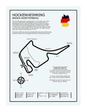 Hockenheimring Circuit by Mark Rogan