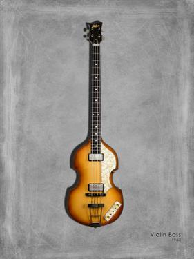 Hofner Violin Bass 62 by Mark Rogan