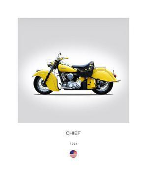 Indian Chief 1951 by Mark Rogan