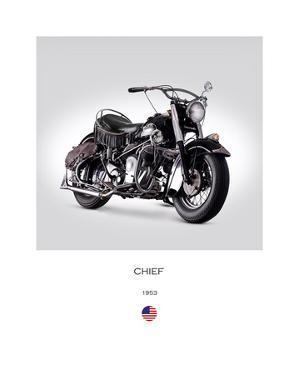 Indian Chief RoadMaster 1953 by Mark Rogan