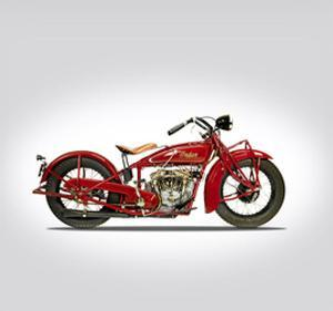 Indian Scout 101 1929 by Mark Rogan