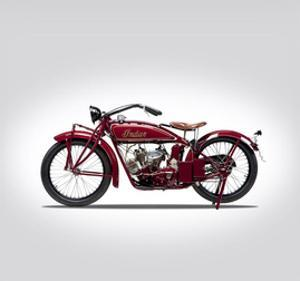 Indian Scout 1924 by Mark Rogan