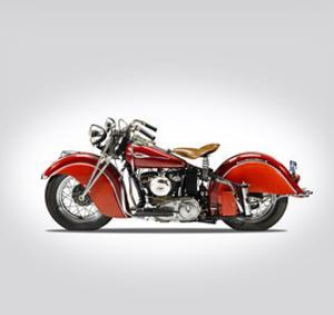 Indian Sport Scout 1940 by Mark Rogan