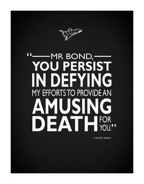James Bond - Amusing Death by Mark Rogan