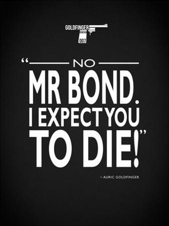 James Bond - Expect You To Die