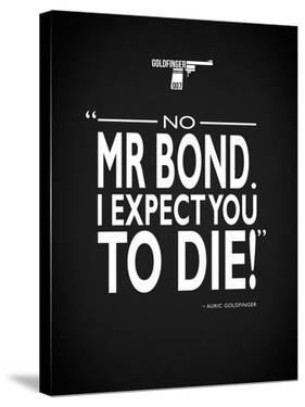 James Bond - Expect You To Die by Mark Rogan