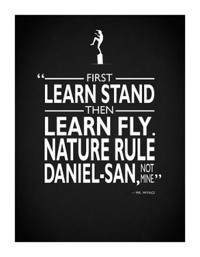 Karate Kid Nature Rule by Mark Rogan