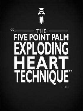 Kill Bill - Exploding Heart by Mark Rogan