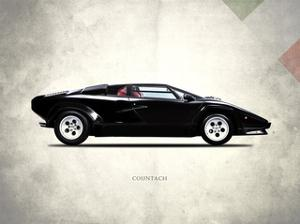 Lamborghini Countach 5000-S 84 by Mark Rogan