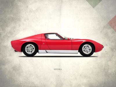 Lamborghini Miura P400 1967 by Mark Rogan