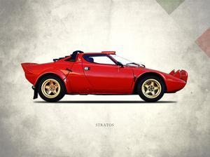 Lancia Stratos 1974 by Mark Rogan
