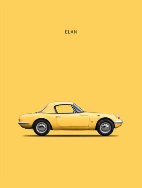 Lotus Elan 1965 by Mark Rogan
