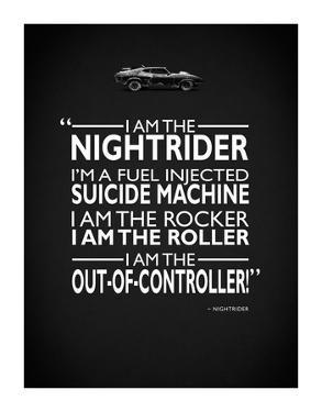 Mad Max I Am The Nightrider by Mark Rogan