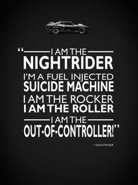 Mad Max I Am The Nightrider by Mark Rogan