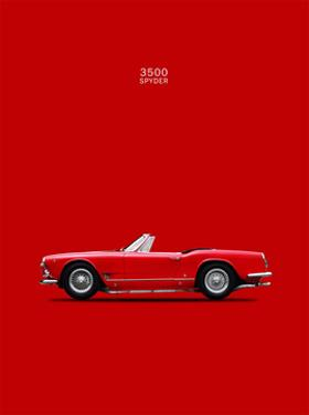 Maserati 3500 Spyder 1959 by Mark Rogan