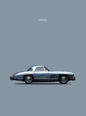 Mercedes 300SL 1960 by Mark Rogan