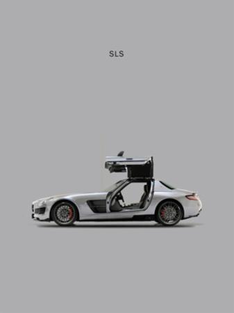 Mercedes SLS Grey by Mark Rogan