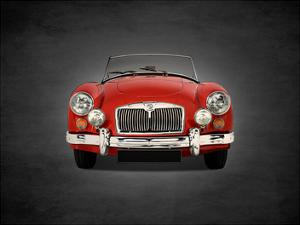 MG A 1500 1955 by Mark Rogan