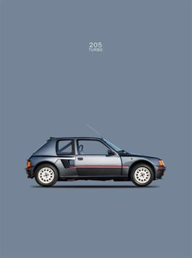 Peugeot 205 Turbo 1984 by Mark Rogan