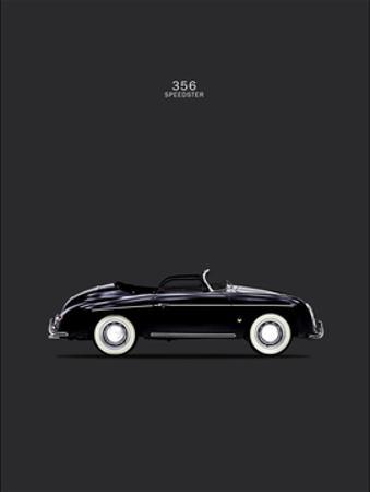 Porsche 356 Speedster Black by Mark Rogan