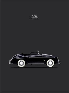 Porsche 356 Speedster Black by Mark Rogan