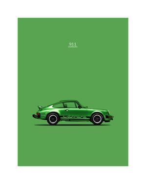 Porsche 911 Carrera Green by Mark Rogan