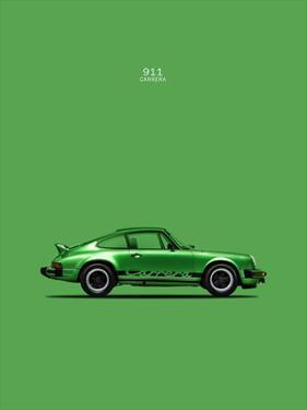 Porsche 911 Carrera Green by Mark Rogan