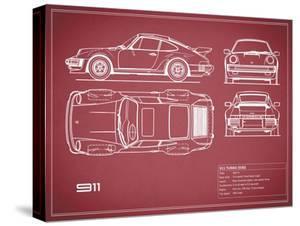 Porsche 911-Turbo 1977 by Mark Rogan