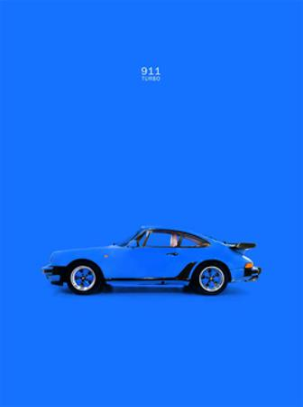 Porsche 911 Turbo Blue by Mark Rogan