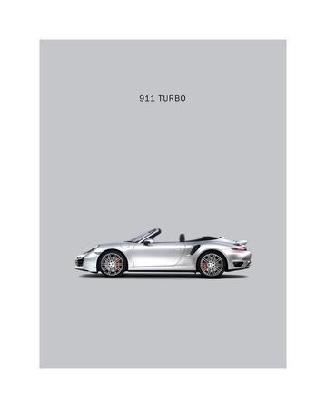 Porsche 911 Turbo Grey By Mark Rogan