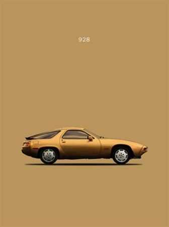 Porsche 928 1979 by Mark Rogan
