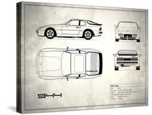 Porsche 944 Turbo White by Mark Rogan
